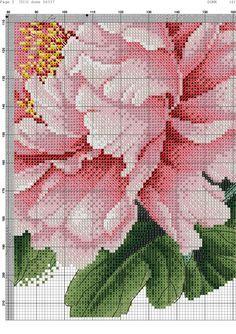 cross stitch patterns chinese peony - Google Search