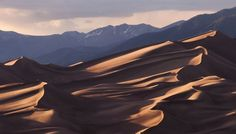 Image by The Forest's Edge Photography ~ Diane Sandoval | Great Sand Dunes National Park, CO