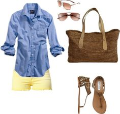 """BBQ Outfit"" by jacquelynbellacqua on Polyvore"