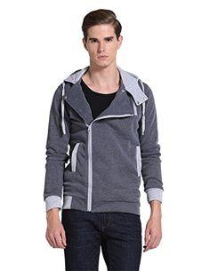 Pishon Men's Oblique Zipper Hoodie Casual Top Coat Plain ... https://www.amazon.com/dp/B011U9MCUU/ref=cm_sw_r_pi_dp_x_vW1oybX8CR89D