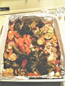 Roasted Veggies by Kevin :)