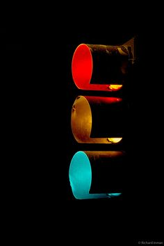 the traffic lights Photo Red, Amber, Green par Richard Inman on 500px