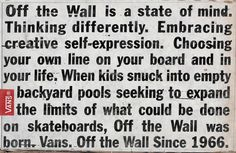 Vans : Off The Wall