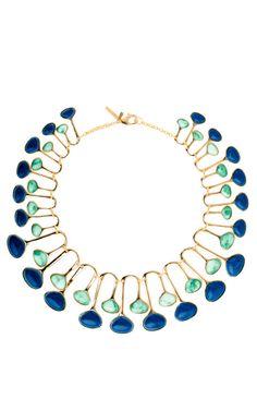 Shop Meteor Shower Necklace by Lele Sadoughi for Preorder on Moda Operandi