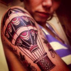 air baloon tattoo