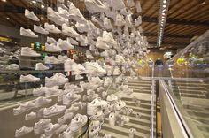 In partnership with Wonderwall/Katayama-san, Nike Harajuku Flagship Store.