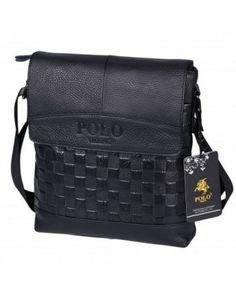 5b4f5352d6ce PS33 Brifecase Messenger Crossbody VS1 black Leather Bag