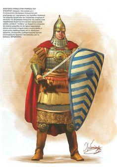 Bulgarian cavalryman in Byzantine service