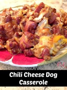 Chili Cheese Dog Casserole - Made this for dinner tonight. It was a HIT, and so easy!!