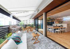 気心の知れた友人や仲間を招いて、庭でバーベキューはいかがですか?オーニングテントがあれば、突然の雨や強い日差しも安心ですね。 #インテリア #エクステリア #テラス #ガーデンテラス #バルコニー #リビング #ダイニング #屋外 #アウトドア #ホームパーティー #デッキ #ソファ #チェア #窓 Open Layout, Round House, Room Ideas Bedroom, Interior Photo, Home Hacks, Ideal Home, House Plans, Home And Family, Sweet Home