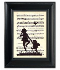 Winnie POOH Bear Skipping Milne Small by PatricianPrints on Etsy