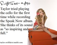 I play the cello so this is awesome Taylor Swift Blog, Taylor Swift Fan Club, Taylor Swift Concert, Taylor Swift Facts, Taylor Swift Quotes, Taylor Alison Swift, Now Albums, Swift 3, Intersectional Feminism
