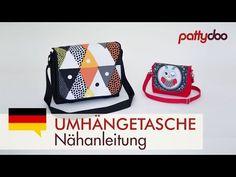 Umhängetasche & Kindergartentasche nähen - pattydoo Nähanleitung - YouTube