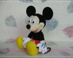Tutorial Amigurumi Mickey Mouse : Mickey mouse and the gang pdf amigurumi crochet pattern movie