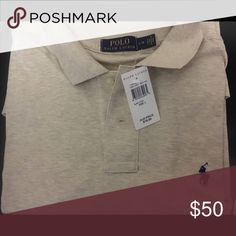 Custom Long Sleeve Collar Polo Ralph Lauren Shirt Brand new/Never worn. Retails $79.99. Extremely soft material. Nice beau real color that can go with almost anything. Polo by Ralph Lauren Shirts Tees - Long Sleeve
