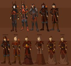 Fire Nation Military by ~DressUp-Avatar on deviantART