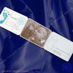 Faire-part de naissance passeport garcon - NC10-026-1 - Buromac 580.145 | Faire-part.fr
