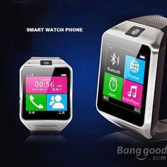 GV08 1.5Inch MTK6260A Bluetooth Wristwatch Pedometer Sale - Banggood.com