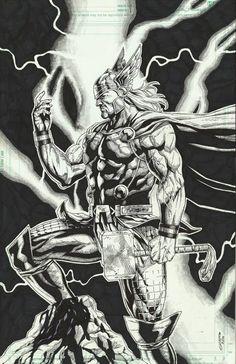 Thor by Geebo Vigonte *