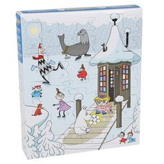 The Moomin Christmas calendar of 2016 is here! Surprise yourself with a new character for 24 days leading up to Christmas with this year's advent calendar. Moomin Books, Moomin Mugs, Best Christmas Gifts, Holiday Fun, Christmas Wishlist 2016, Moomin Shop, Moomin Valley, Tove Jansson, Christmas Calendar