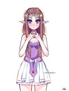 Cute Zelda