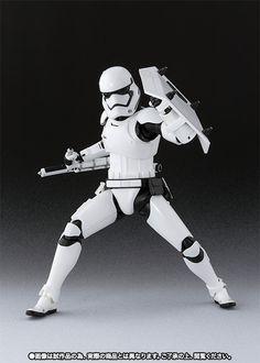 SHFiguarts First order Storm Trooper (shield and baton set) | Tamashii Web