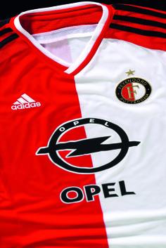 Het nieuwe Feyenoord thuisshirt