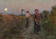Jules Breton - L'Amour