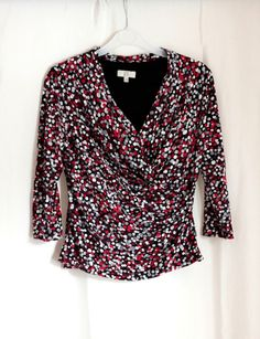 Country Casuals CC Wrap Top Size Small Petite Range #Boden #FitnessJacket #Casual