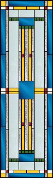 Geometric 2 Decorative Window Film by Mary Anne