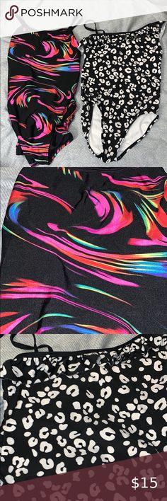 "14-10 14/"" Kids BLACK Tube Socks with WHITE//HOT PINK Stripes style 1"