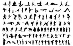 Describe: Over 120 silhouettes made available by Sadmonkeydesign.com. Feel free to use these elements for anything you wish, personal and/or commercial. For more free stuff made available by SadMonkeyDesign.com please visit sadmonkeydesign.wordpress.com.