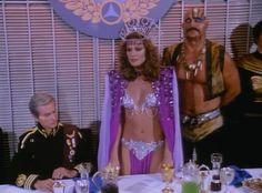 Scifi brings u : Pamela Hensley as Princess Ardala Sci Fi Tv Series, Sci Fi Tv Shows, Old Tv Shows, Science Fiction, Pamela Hensley, Buck Rodgers, Rogers Tv, Mononoke, Erin Gray