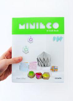 Ya está en mi wishlist de Navidad >> MiniEco: A Craft Book