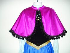 Princess Anna Inspired Cape Only from Disney's by SeamsByTeri