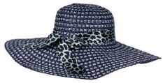 Summer Spring Classic and Elegant Floppy Hat for Fashionable Women, Navy NYGiftStop Floppy. $4.99