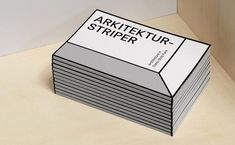 The exhibition Arkitekturstriper shows how architects use comic strips to create their own work, collaborate, communicate ideas and architectural criticism. Architecture Business Cards, Architecture Logo, Corporate Design, Editorial Design, Identity Design, Logo Inspiration, Name Card Design, Leaflet Design, Bussiness Card