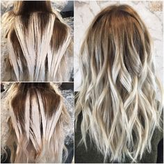 Image result for ash blonde balayage