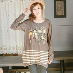Buy 'YoungBaby – Long-Sleeve Rabbit-Print Long Top' with Free International Shipping at YesStyle.com. Browse and shop for thousands of Asian fashion items from Taiwan and more!
