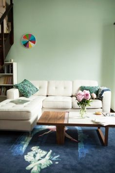 Best part is the rug. Photos by Maia Harms