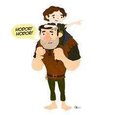 Bran & Hodor