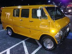 1972 Ford Econoline Van E100 Fully Restored