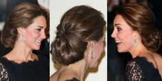 Kate Middleton's up-do hairstyle - The Royal Variety Performance 2014 - Cosmopolitan.co.uk