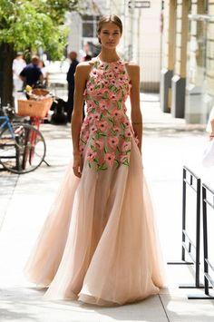 Lela Rose at New York Fashion Week Spring 2017 - Runway Photos