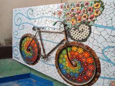 Atelier Baú de Idéias - Mosaicos: WORKSHOP EM POMPÉIA (SP) - MARÇO DE 2104