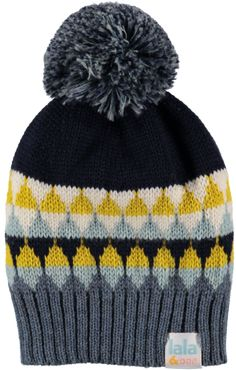 03ed92d44d0 Kids bobble hat made with merino wool