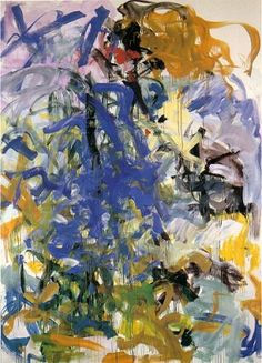 "Joan Mitchell was a ""second generation"" abstract expressionist painter and printmaker. She was an essential member of the American Abstract expressionist movement, even though much of her career took place in France."