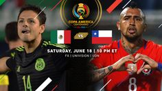 Copa America Centenario Quarterfinal Match Recap | Mexico 0, Chile 7 | (June 18th, 2016 @ Levi's Stadium in Santa Clara, CA) | The champions of South America met the champions from North America in what turned into a blow out, Chile pushed hard from the 1st whistle. Scoring before halftime in the 16th and 44th minute. It got worse after halftime as Chile continued to pour it on. Eduardo Vargas scored 4 goals and Edson Puch had a brace. Mexico Chile, Copa America Centenario, June 18th, Santa Clara, South America, Champion, Goals, Movie Posters, Eduardo Vargas