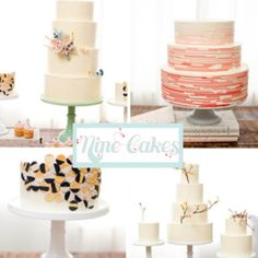 Beautiful cakes by nine!