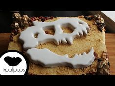 Jurassic World Fossil Cake | How To - YouTube
